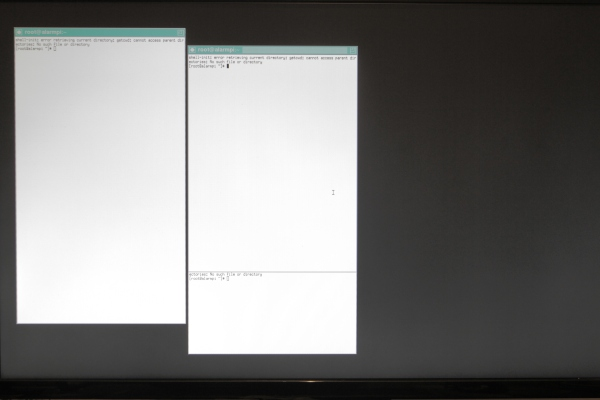 xorg on arch linux